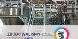 Dla firmy Hempel zbudowaliśmy instalację mieszania i dyspersji farb