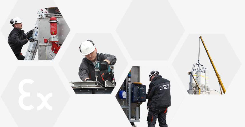 Modernizacje / Montaże / Serwis