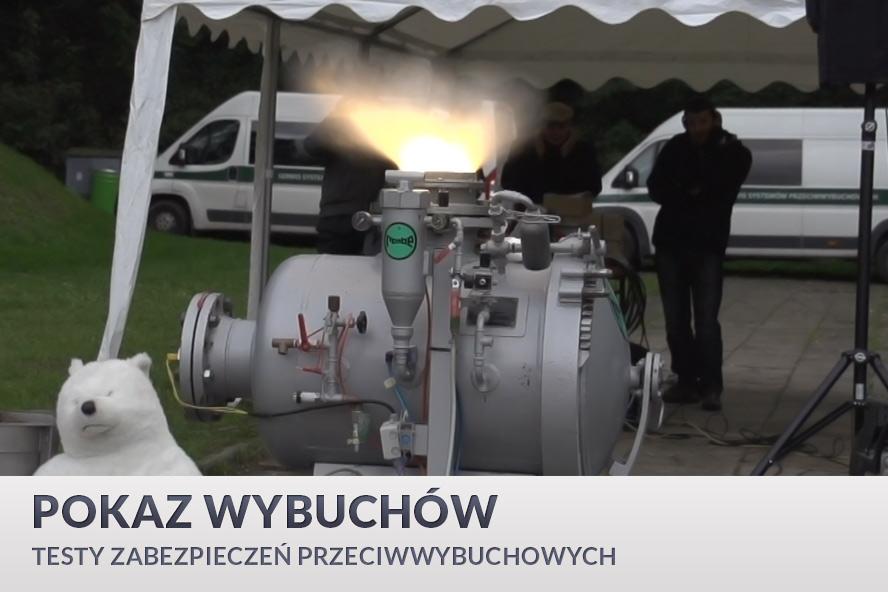 Pokaz wybuchów - GRUPA WOLFF - TESSA
