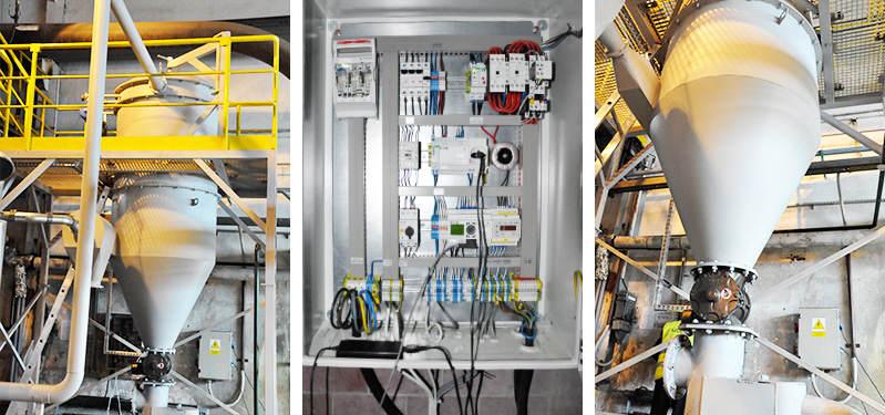 Instalacja centralnego odkurzania w wykonaniu ATEX