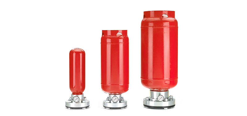 Butle z czynnikiem gaszącym typ HRD-E