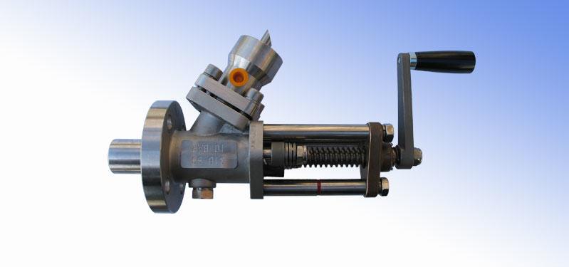 Zawór tłokowy do poboru próbek sam piston