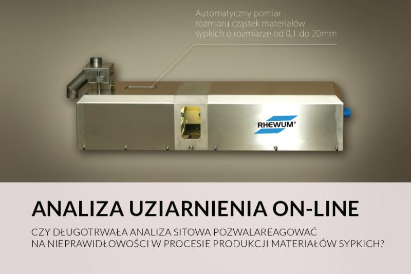 ANALIZA UZIARNIENIA ON-LINE
