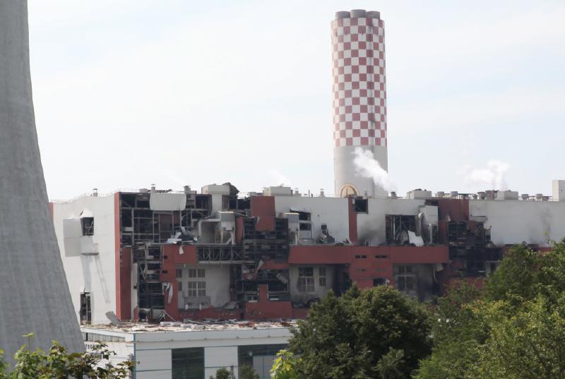 Elektrownia Turów Wybuch