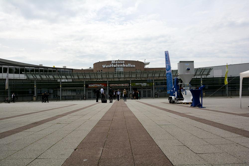 Westfalen Messe w Dortmundzie - zaczynamy