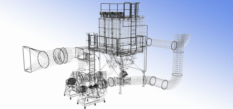 PROJEKTOWANIE / MODELOWANIE INSTALACJI 3D