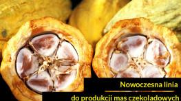 Nowoczesna linia do produkcji mas czekoladowych
