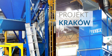 PROJEKT KRAKÓW - instalacja odpylania linii do metalizacji natryskowej rur cynkiem