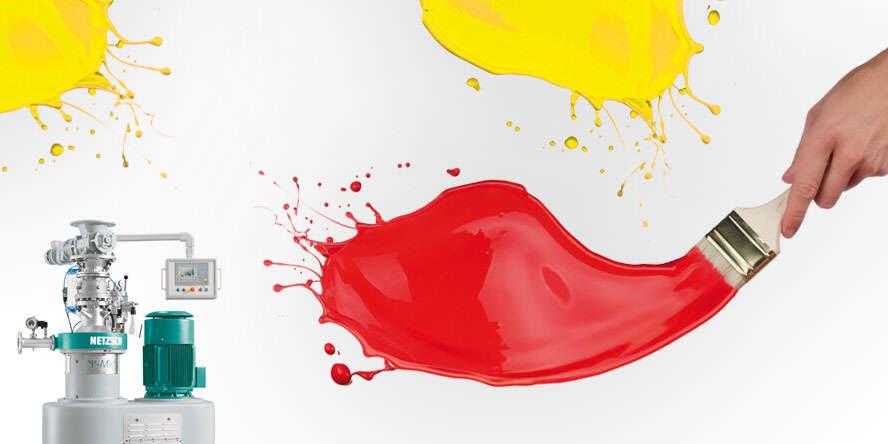 Mieszanie i dyspersja farb i lakierów