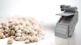Przesiewacz do siarczanu amonu dla instalacji magazynowania nawozów