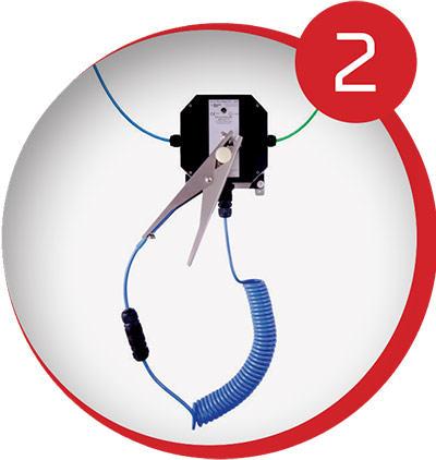 Bond-Rite – system uziemiający z układem elektronicznym