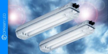 Sprawdź zalety naszych energooszczędnych opraw LED do stref zagrożenia wybuchem
