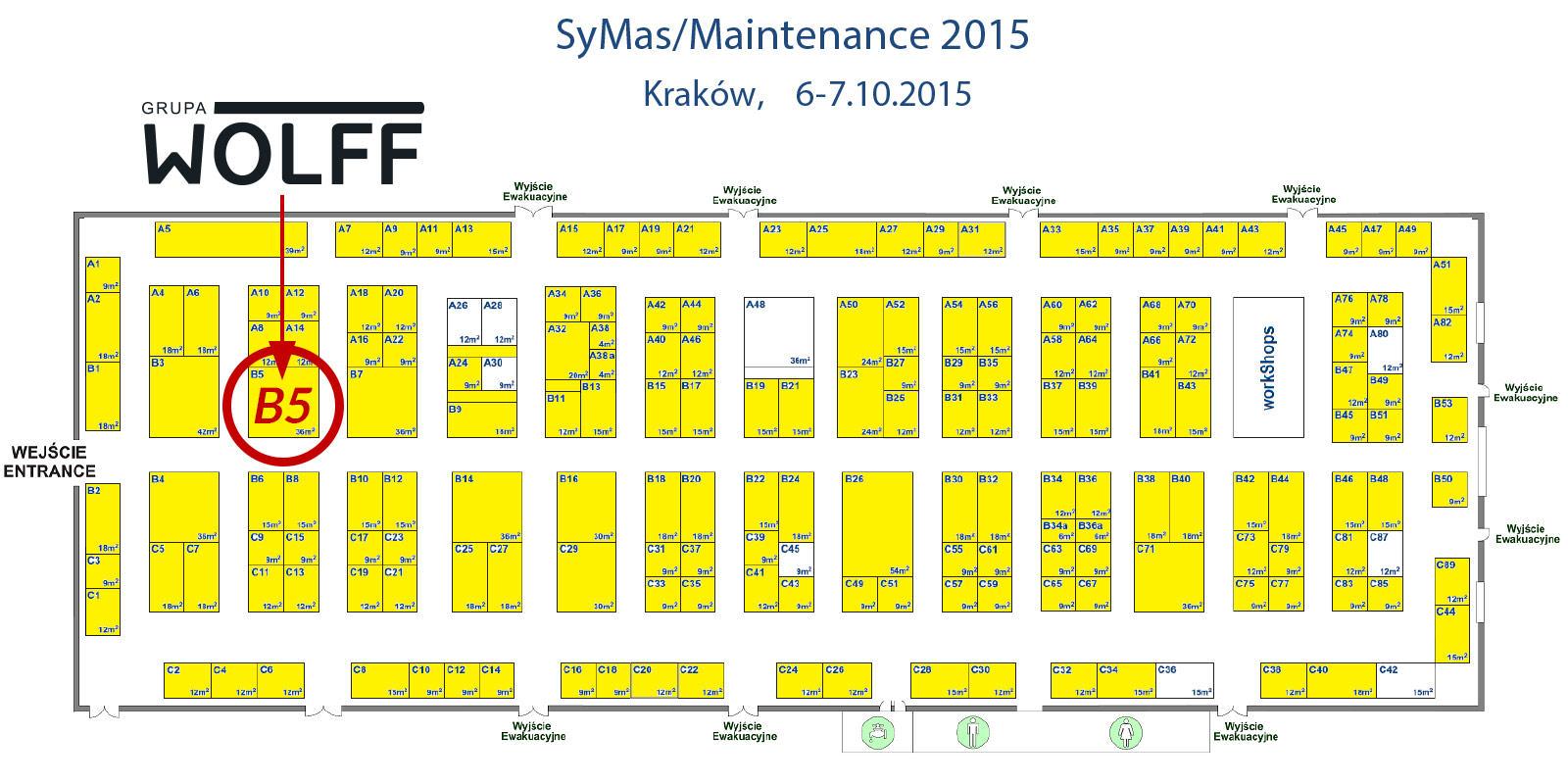 SyMas 2015 Plan hali Kraków
