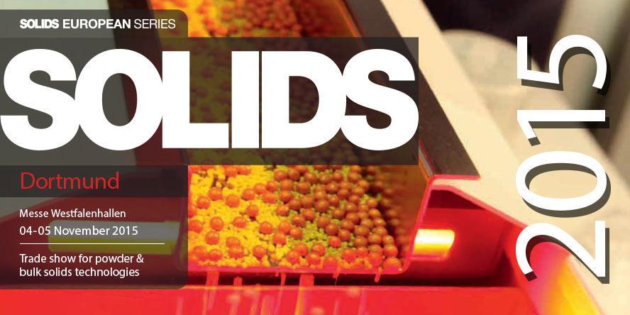 Targi Schüttgut | SOLIDS Dortmund 2015 - GRUPA WOLFF