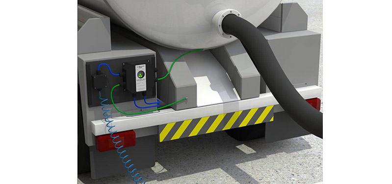 System Earth-Rite MGV na cysternie samochodowej