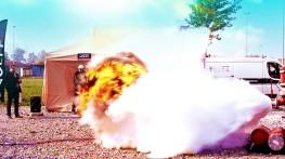 wybuch pyłu