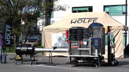 GRUPA WOLFF - Pokazy wybuchów podczas Risk Project 2016