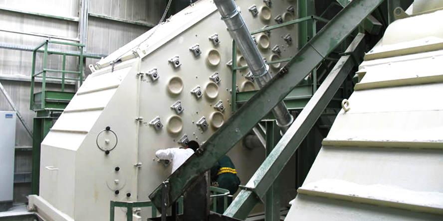 """Kontrakt na dostawę przesiewaczy wibracyjnych w systemie """"pod klucz"""" dla znaczącego europejskiego producenta nawozów sztucznych"""