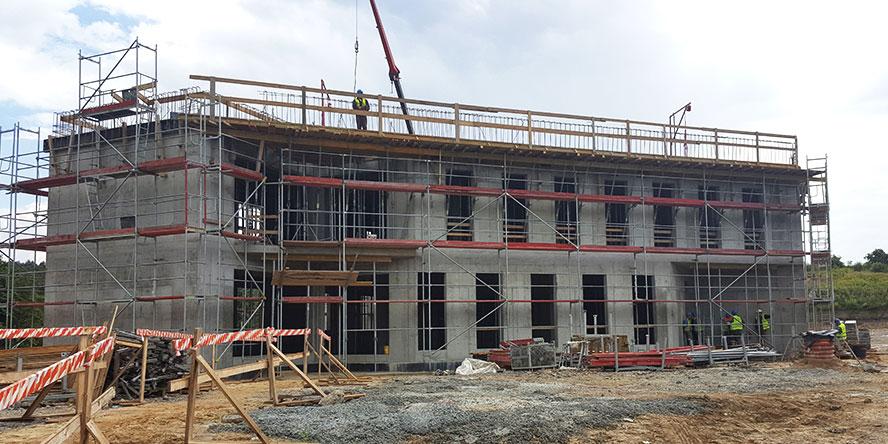 Budowa nowej siedziby GRUPY WOLFF
