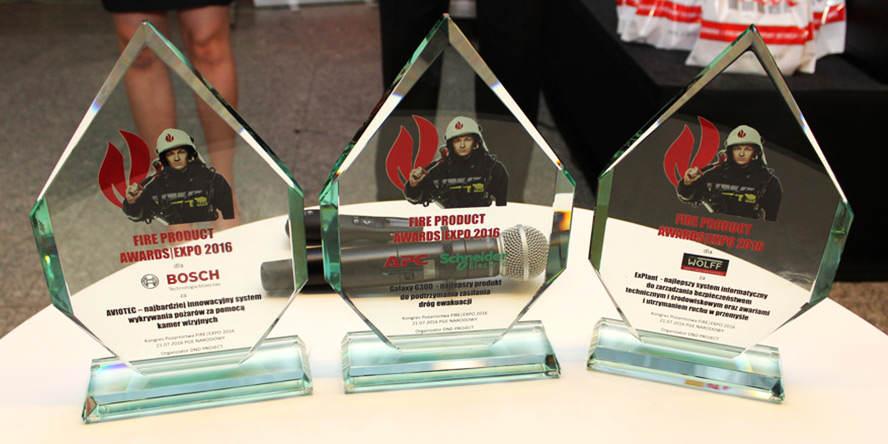 ExPlant nagrodzony podczas Kongresu Pożarnictwa FIRE|EXPO 2016