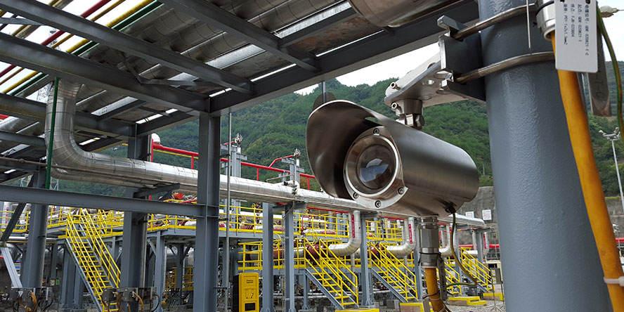 Zastosowanie lasera diodowego otwartej ścieżki Senscient ELDSTM