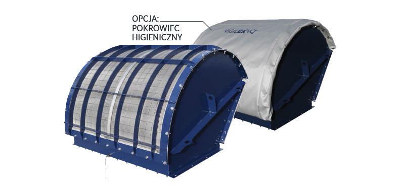 VIGILEX VQ - układ bezpłomieniowego odciążania wybuchu - opcja