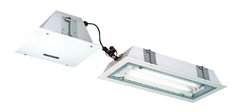 eLLB 20018/18 NIB - Oprawy oświetlenia awaryjnego do montażu w sufitach podwieszanych