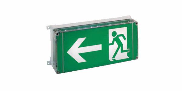 EXIT – Oprawy oświetlenia awaryjnego do podświetlenia znaków ewakuacyjnych EX ATEX