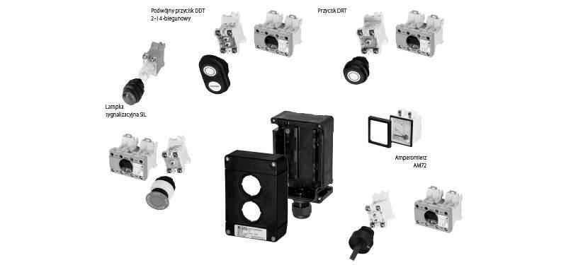 Kasety sterownicze do indywidualnej konfiguracji EX ATEX