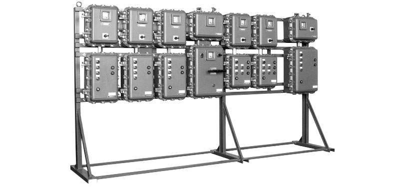 Obudowy i rozdzielnice w osłonie ognioszczelnej dla grupy IIB EX ATEX
