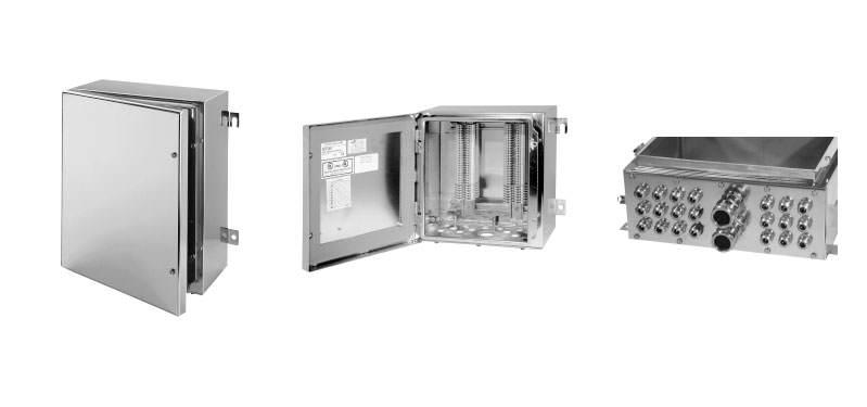Skrzynki zaciskowe ze stali nierdzewnej NEXT Ex ATEX Inox