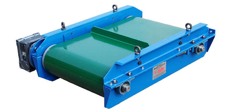 Separatory magnetyczne dla przenośników taśmowych