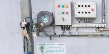 Dostawa zmodyfikowanych systemów kontroli uziemienia cystern o dodatkowe układy automatyki
