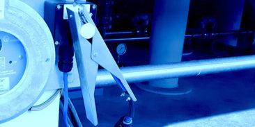 System Earth-Rite RTR przeznaczony do kontrolowania poprawności uziemienia cystern samochodowych podczas ich napełniania i opróżniania