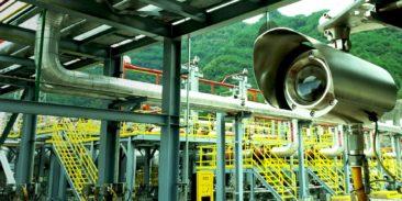 Monitorowanie wycieków amoniaku za pomocą spektroskopii laserowej