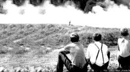 """Fot. Tadeusz Patan, """"Kronika Beskidzka"""" – Ogrom tego pożaru zapamiętają na całe życie."""