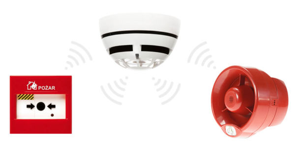 Bezprzewodowy system detekcji pożaru