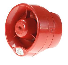 Bezprzewodowy system detekcji pożaru - bezprzewodowy sygnalizator akustyczny