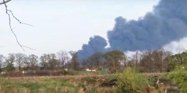 Pożar w Zakładach Azotowych w Kędzierzynie-Koźlu
