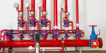 System sygnalizacji pożaru oraz sterowania instalacją zraszaczową galerii skośnej dla przenośników węglowych