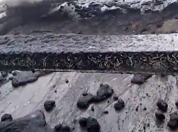 Przesiewacz odwadniający węgiel brunatny