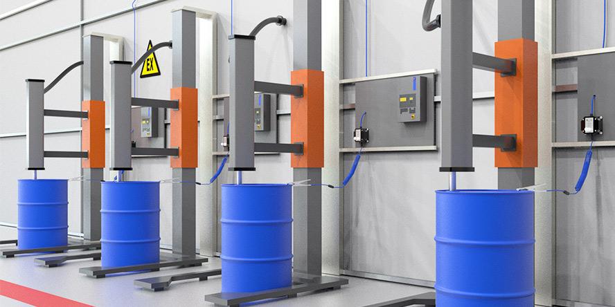 Dostawa systemów kontroli uziemienia instalacji procesowej, autocystern oraz beczek i zbiorników