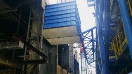 Dostawa i montaż konstrukcji wielkogabarytowych w ramach budowy instalacji katalitycznego odazotowania spalin (SCR)