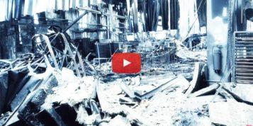 Pożar w zakładzie Coko Werk