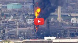 Wybuch i pożar w ExxonMobile