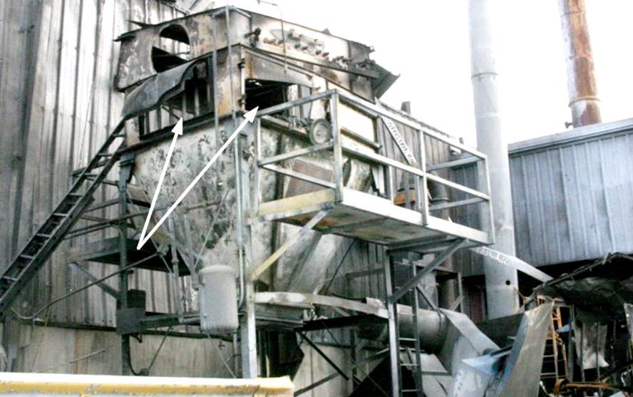 Filtr po wybuchu pyłu aluminium