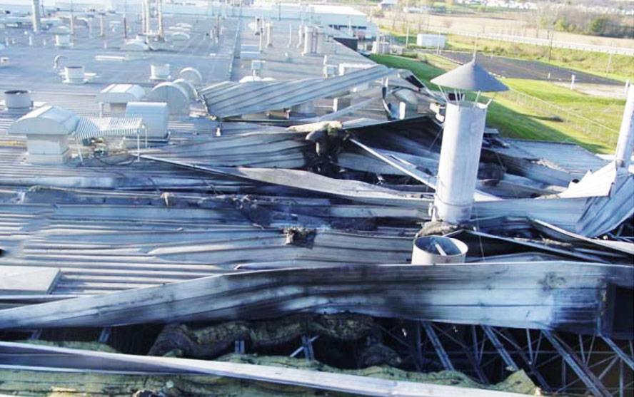 Wybuch pyłu aluminium oraz pożar w Hayes Lemmerz