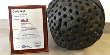 Re-certyfikacja ISO 9001:2015 na rok 2020