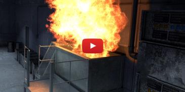 Wybuch pyłu w mieszalniku, przyczyny i skutki