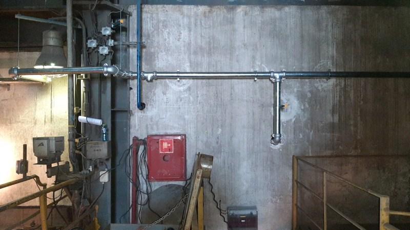 500 metrów instalacji hydrantowej